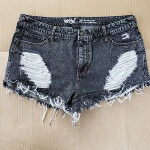 Mossimo High Rise Short Shorts